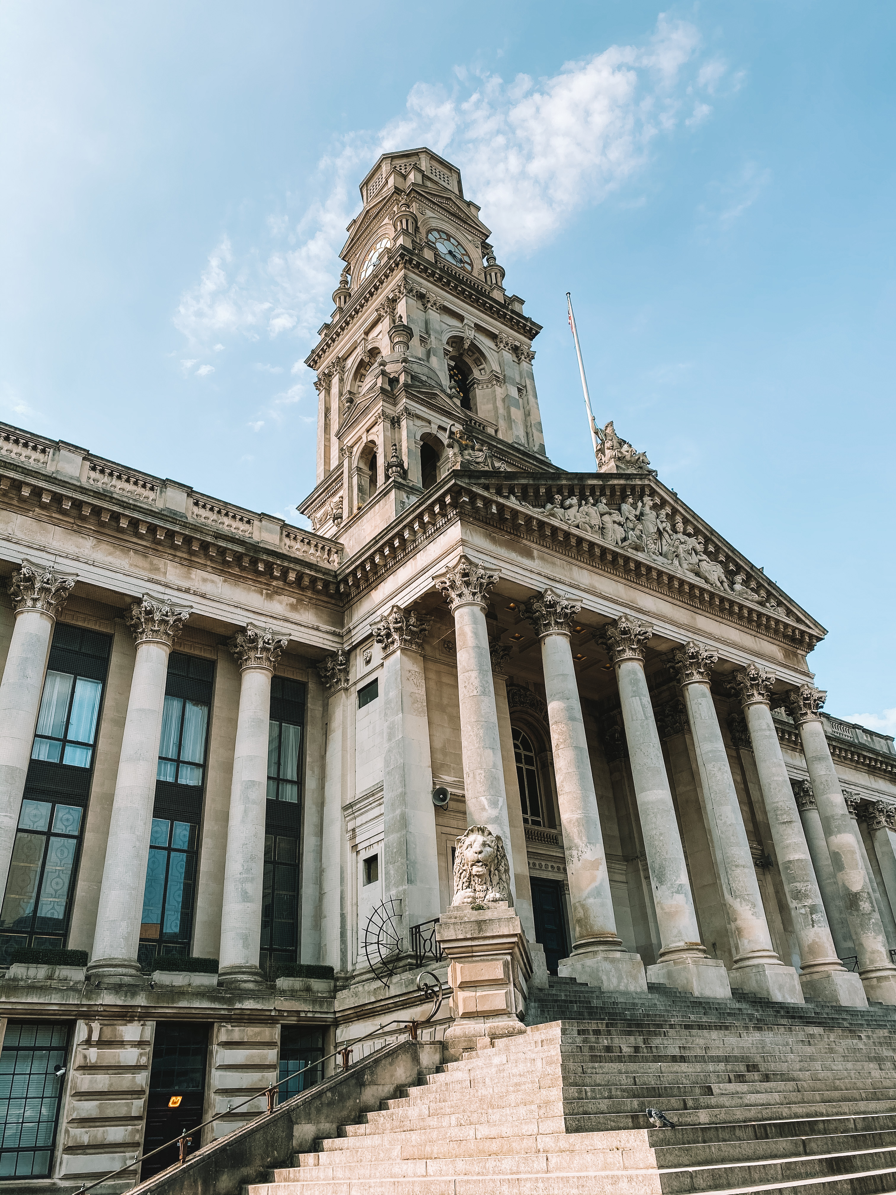 The Portsmouth Guildhall